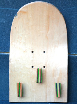 Garderobe Skateboard ohne Griptape
