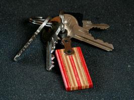 Schlüsselanhänger Lang - Rot