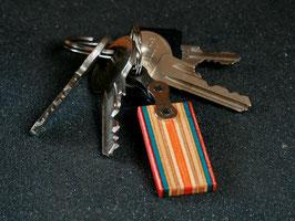 Schlüsselanhänger Lang - Rot/Türkis/Orange