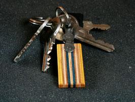 Schlüsselanhänger Lang - Gelb/Grau