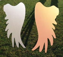 1 Flügel Silber oder Gold