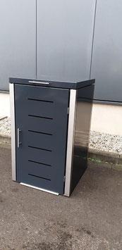 Mülltonnenbox Toppic 953732 für eine 120 Liter Mülltonne in Anthrazitgrau RAL 7016