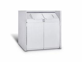 Mülltonnenbox Beton, Modell Antill Big für einen 1100 Liter Müllcontainer