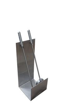 Kaminbesteck, Modell Stila ST15, Edelstahl