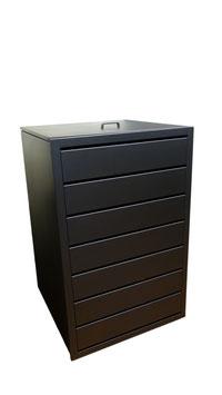 Mülltonnenbox Magnat S für eine 120 Liter Mülltonne