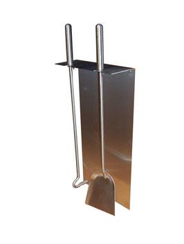 Kaminbesteck, Modell Stila2, Edelstahl
