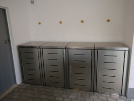 Mülltonnenbox Toppic für vier 120 Liter Mülltonnen
