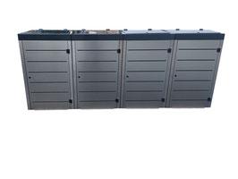 Mülltonnenbox Streton für vier 120 Liter Mülltonnen