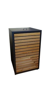 Mülltonnenbox Magnat H für eine 120 Liter Mülltonne