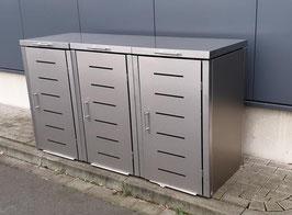 Mülltonnenbox Toppic für drei 120 Liter Mülltonnen