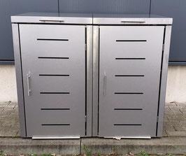 Mülltonnenbox Toppic für zwei 240 Liter Mülltonnen