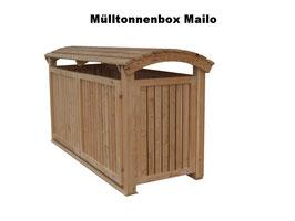 Mülltonnenbox Mailo für drei 240 Liter Mülltonnen