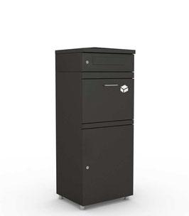 Briefkasten mit Paketmodul XL, grafitgrau