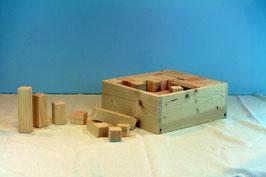 Holzbaukasten 91-teilig