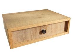 weisse Holzschublade/wooden drawer