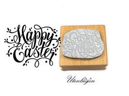 Happy Easter, handlettering - Motivstempel
