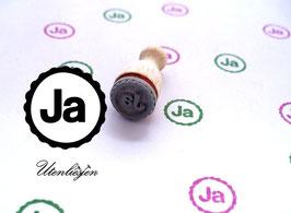 Stempel Ja - Ministempel