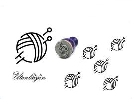 Wollknäuel - Ministempel