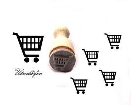 Einkaufswagen - Ministempel