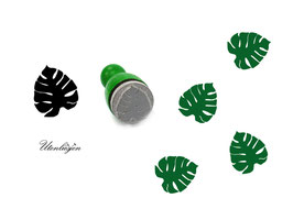 Monstera - mini Stempel