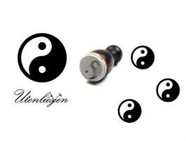 Yin Yang - Motivstempel mini