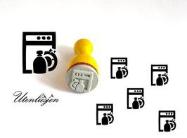 Spülmaschine - Ministempel