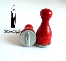 Stempel Kerze - Ministempel