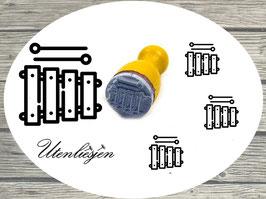 Glockenspiel - mini Stempel