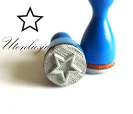 Stempel Stern oder Stern offen - Ministempel
