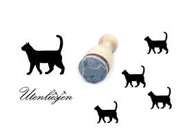 Katze 1 - Motivstempel mini