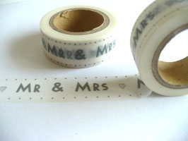 Washi Tape - Mr & Mrs