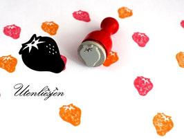 Stempel Erdbeere - Ministempel