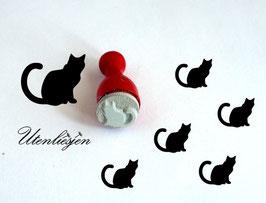 Katze - Ministempel