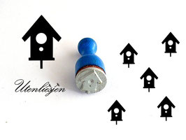 Vogelhaus - Ministempel