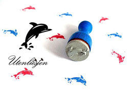 Delfin - Ministempel