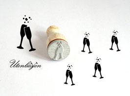 Sektgläser - Ministempel