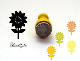 Stempel Sonnenblume - mini Stempel