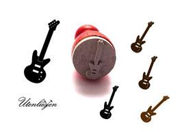 E-Gitarre - mini Stempel