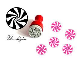 Candy, Lutscher - Ministempel