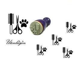 Hundesalon - Ministempel