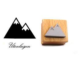 Berge - Motivstempel