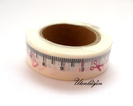 Masking Tape - Maßband weiß