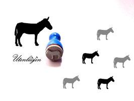 Esel - Ministempel
