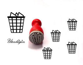 Papierkorb - Ministempel