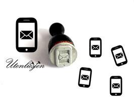 Handy, Smartphone - Ministempel