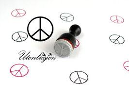 Peace Zeichen - Ministempel