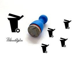 Mülltonne - Ministempel
