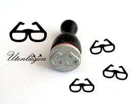 Brille - Ministempel