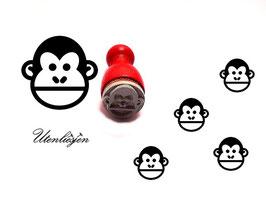 Affe - Ministempel