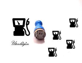 Zapfsäule, Tankstelle - Ministempel